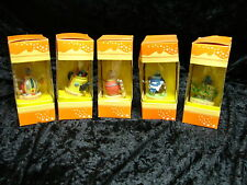5 x Decorative Tetley Tea Folk Teapots Orange Boxes Maurice Archie Gordon Sydney
