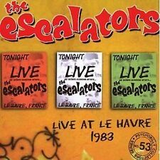 The Escalators Live At Le Havre 1983 CD NEW Psychobilly