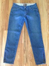 Rich And Skinny Zipper Ankle Jeans Size 26