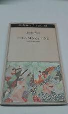 FUGA SENZA FINE JOSEPH ROTH COD ISBN 9788845900983