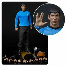 Star Trek TOS Spock 1/6 Scale Articulated Figure STR-0069 By Qmx