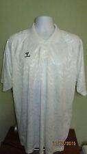 XL Hummel Soccer Rugby Golf Polo Shirt Raglan Short Sleeve #14 Jersey