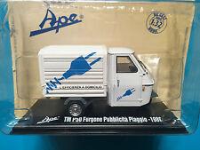 """DIE CAST  """" TM P50 FURGONE PUBBLICITA' PIAGGIO - 1986"""" APE COLLECTION SCALA 1/32"""