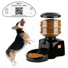Tera 5L Automatic Pet Feeder Wi-Fi Control Bowl Dispenser Fountain for Dogs Cats