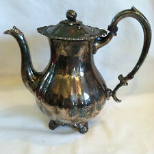 Marlboro Silverplate Old English,Repro# 416 Coffee Pot EP Copper Pumpkin on Top