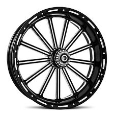 "THIRTEEN CONTRAST CUT BILLET WHEEL 18""X3.5"" REAR HARLEY DYNA  SPORTSTER SOFTAIL"