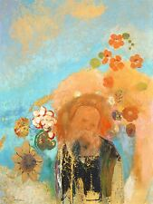 ODILON REDON FRENCH EVOCATION ROUSSEL OLD ART PAINTING POSTER PRINT BB6208A