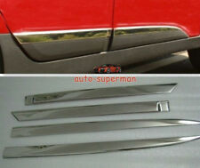 S/Steel body Side door Molding sill Chrome trims For Hyundai TUCSON ix35 2010+