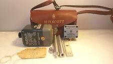 H.H. Scott Vibration Integrator 412-S5A-P1 Vibration Pickup 412-X5-P2 Kit w Case