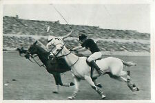 Polo Argentina (ARG) - Mexico (MEX) SPORT OLYMPIC GAMES 1936 CARD