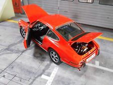 PORSCHE 911 2.4 Coupe S 1973 orange F-Modell NEU Schuco 1:18