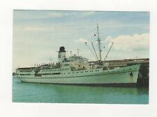 MV Doulos OM Ship Visiting Auckland New Zealand Postcard 232b