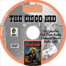 The Cisco Kid - Massive Collection of 352 Old Time Radio Shows -   MP3 DVD