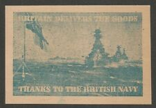 India World War 2 British Navy postcard with message in 12 languages