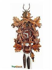 DOLD 1-20 Animal Hunter 1 Day German Cuckoo Clock