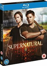 SUPERNATURAL COMPLETE SERIES 8 BLU RAY New Sealed UK Original 8th Eighth Season