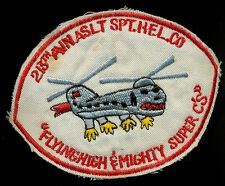 US Army 213th Aviation Assault SPT Helecopter Co Vietnam Patch A-2