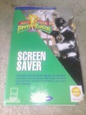 Mighty Morphin Power Rangers Screen Saver PC MAC CD movie TV show sound effects+