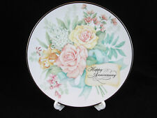 AVON VINTAGE **JOYOUS OCCASIONS ANNIVERSARY PLATE WITH STAND** 1995 **NIB**
