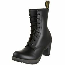 Dr. Martens Women's  Darcie Black Smooth Dee Diva  Heel Boot US 10 EU 42 UK 8