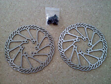NEW 2- Avid 160mm G3CS Disc Rotors w/bolts 6 bolt Clean Sweep- US SELLER!