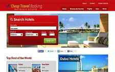 Automated Flights, Hotel, Car, VACATIONS & TRAVEL Website - $2 -$4 Per Lead