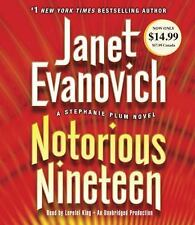 Notorious Nineteen by Janet Evanovich (2014, CD, Unabridged) (FREE 2DAY SHIP)