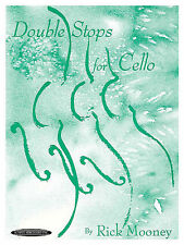 """SUZUKI """"DOUBLE STOPS FOR CELLO"""" MUSIC BOOK BY RICK MOONEY BRAND NEW ON SALE"""