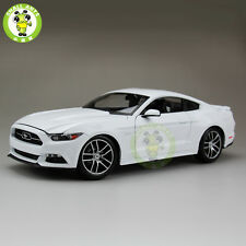 1:18 Ford Mustang GT 2015 50th Anniversary Edition diecast car model White