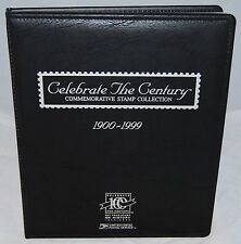 USA Celebrate The Century Stamp Collection, 1900-1999, 10 Sealed Sheets + Album