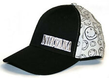 Official Nivana - Smile - Grey/Black Baseball Cap