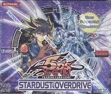 Yu-gi-oh Stardust Overdrive Booster Box Brand New + Sealed     English