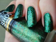 NEW! Maybelline Color Show Brocades Nail Polish in EMERALD ELEGANCE ~ Green #790