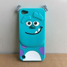 Cute Mint Monsters Sulley Soft Back Case Cover Skin For iPod Touch 5 5TH 6 6TH