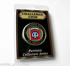 US ARMY 82ND AIRBORNE DIVISION PATRIOTIC SERIES CHALLENGE COIN 1.6 INCHES NEW