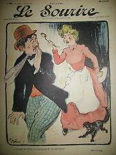 LE SOURIRE JOURNAL HUMORISTIQUE N° 82 DESSINS GRÜN LOURDEY VILLEMOT HUARD 1901