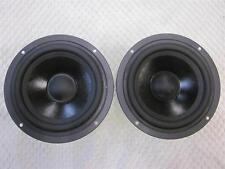 """(2) NEW 5.25"""" CERWIN VEGA Woofer Speaker PAIR.8 ohm.5 1/4"""".5.75"""" Total Frame."""