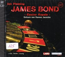 James Bond 007 + Hörbuch 2 CD + Ian Fleming + Casino Royale + NEU +