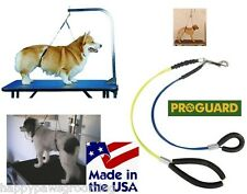 PROGUARD NO SIT LIE DOWN Heavy Duty Dog Grooming Cable Loop RESTRAINT System REG