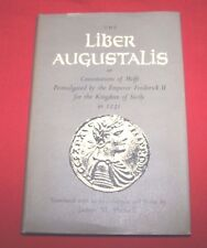 """The Liber Augustalis""  James M. Powell  1st Edition HC/DJ  VG+++"