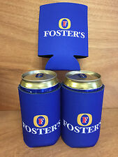 Foster's Beer XXL'er Oil Can Koozie 25.4oz  Australian Fosters Set of 2 New F/S