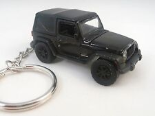 2012 Jeep Wrangler Black Off Road Key Chain '12 Jeep Keychain