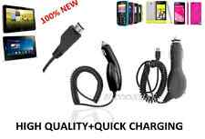 New 100% Car Charger Micro USB High Quality(1000mA) For Samsung S3,S3 Mini,S2