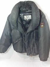 Triple F.A.T. Goose Down Silver Charcoal Waterfowl Feather Parka Coat Medium