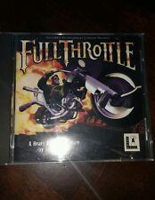 FULL THROTTLE PC 1994 - CDROM
