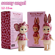 2pcs Sonny Angel Artist Collection Kiss Mark Leopard Action Figures Doll Kid Toy