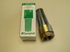 "1"" Brass Foot Valve FV-4T Campbell Lead Free Bronze & Stainless for Cold Water"