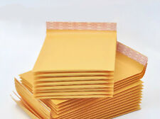 20 x Kraft Bubble Envelopes Padded Mailers Shipping Self-Seal Bags 148x229mm