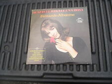 VINTAGE, QUIZAS TE REGALE UNA ROSA, FERNANDO ALBUERNE, PANART, LP 3120