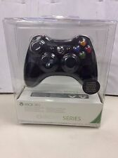 NEW Xbox 360 Limited Edition Chrome Series Wireless Controller  Black